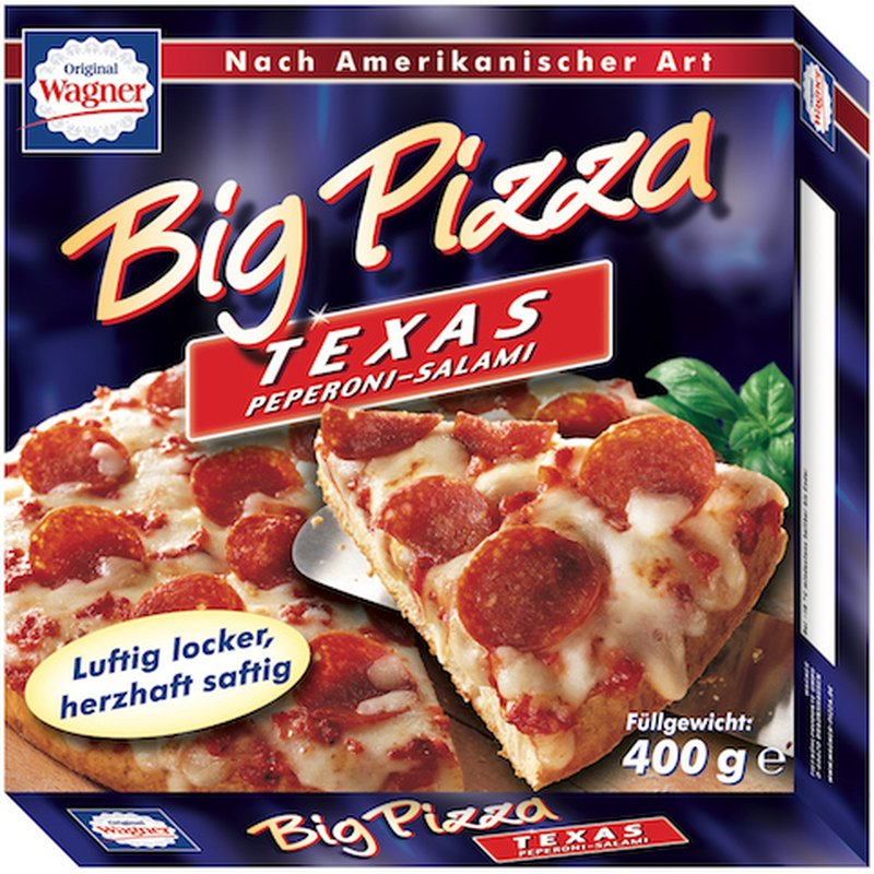 Wagner Big Pizza Backzeit