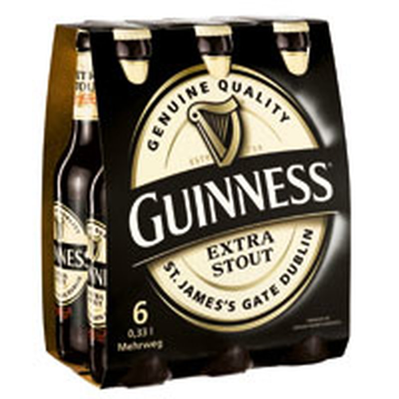 Guinness Extra Stout 6x0,33l-Pack