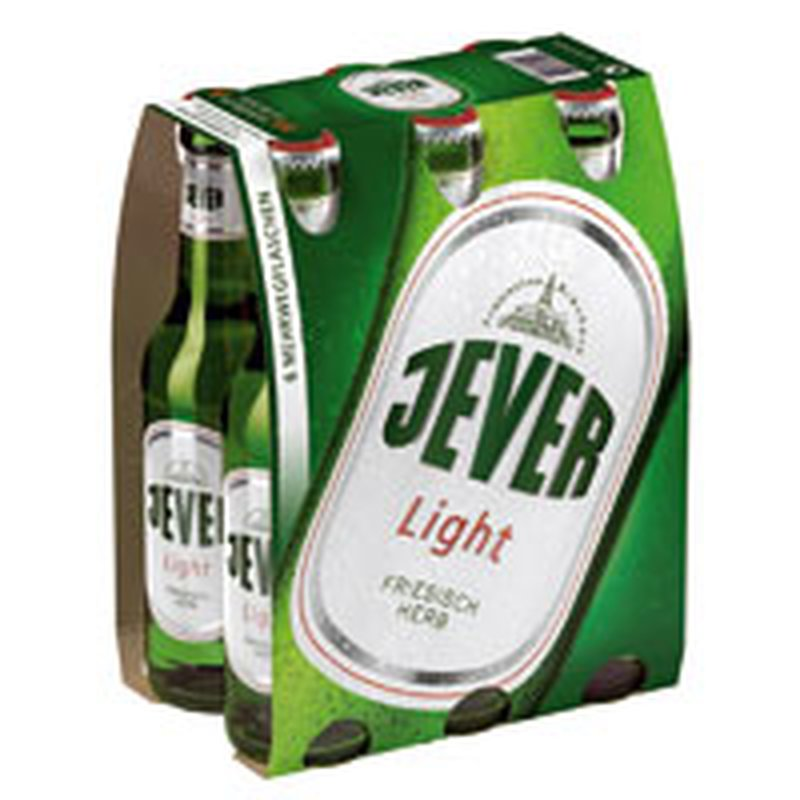 Jever Pils Light 6x0,33l-Pack