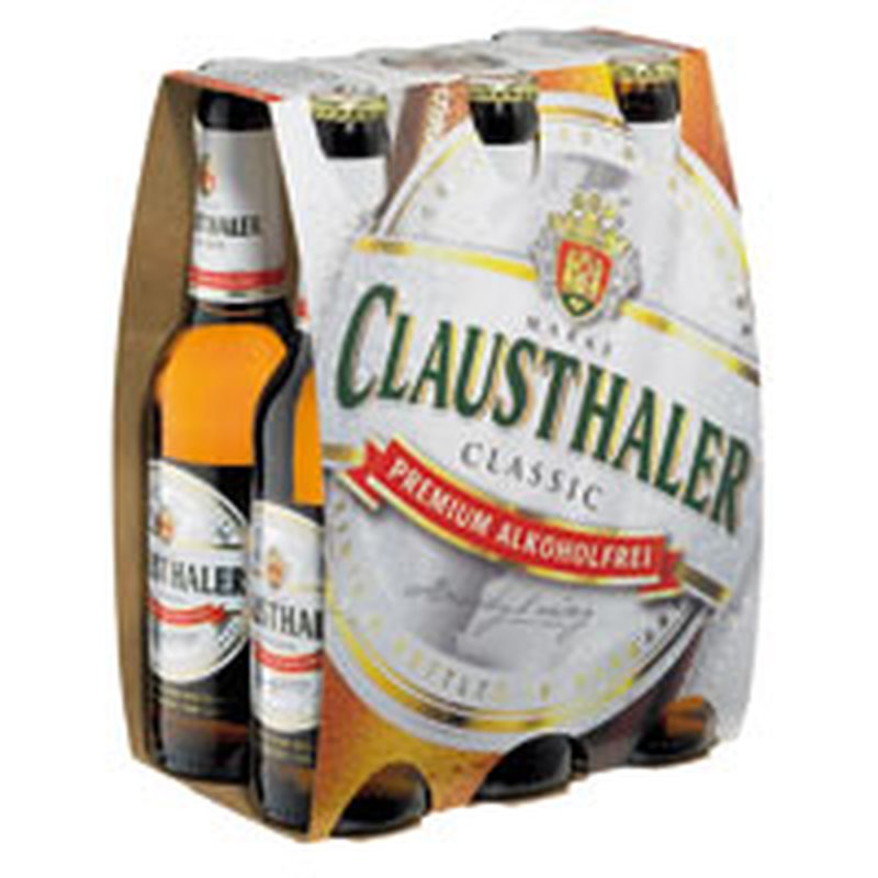 Clausthaler Classic Alkoholfrei 6x0,33l-Pack