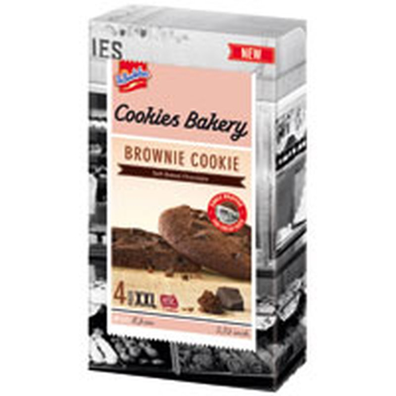 De Beukelaer Cookies Bakery Brownie Cookie 4er