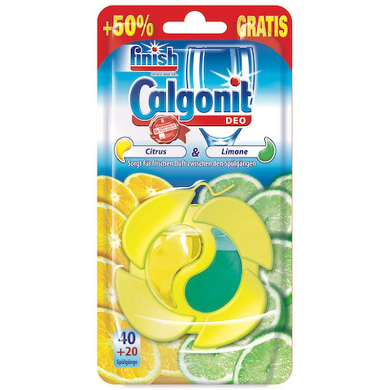 Finish Calgonit Deo Citrus & Limone